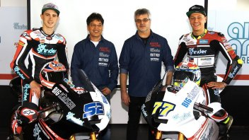 Moto2: Suter returns to Moto2 with Kent and Aegerter