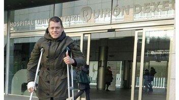 MotoGP: Rabat dimesso dall'ospedale: inizia il recupero