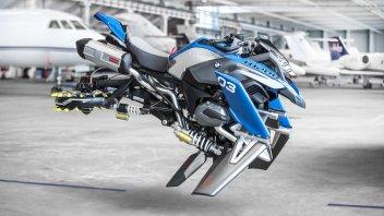 """Moto - News: BMW Motorrad e LEGO: Hover Ride Design Concept, la """"GS volante"""""""