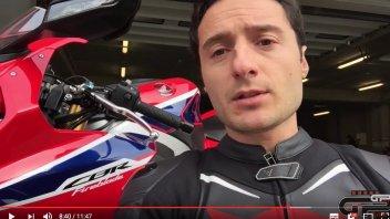 Moto - News: VIDEOTEST: Honda CBR 1000 RR Fireblade