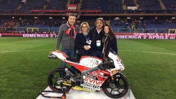 Moto3: Paolo Simoncelli porta la Honda al derby della Lanterna
