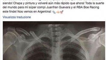 Moto3: Clavicola rotta per Rodrigo, tornerà in Argentina