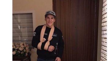 Moto3: Gabriel Rodrigo sulla via del recupero