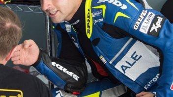 MotoGP: Hector Barbera: clavicola fratturata a Valencia