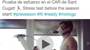 MotoGP: Marc Marquez test his 'engine' before Qatar