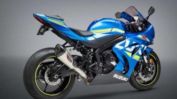 Moto - News: Suzuki GSX-R1000 2017: sound stock vs Yoshimura Alpha T Slip on