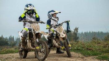 """Moto - News: Husqvarna Motorcycles Kids Gear 2017: anche i minicrossisti sono """"fashion"""""""