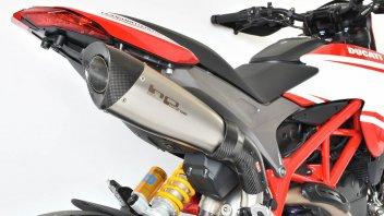 """Moto - News: HP Corse Evoxtreme, """"voce"""" per la Ducati Hypermotard"""