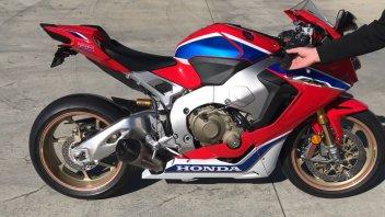 Moto - News: Honda CBR1000RR SP2 2017: stock vs Yoshimura Alpha T slip-on
