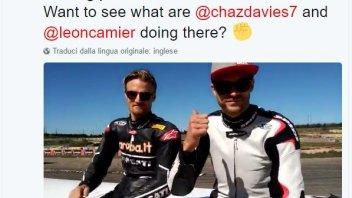SBK: Davies e Camier a sorpresa ad Aragon