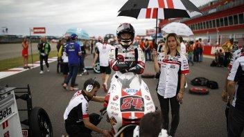Moto3: Paolo Simoncelli: Suzuki celebrated 'in romagnolo'