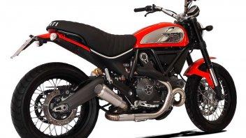 Moto - News: HP Corse GP07: il terminale per la Ducati Scrambler 800