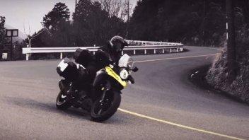 Moto - News: Suzuki V-Strom 250/ABS: un video rivolto ai giovani viaggiatori