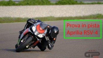 Moto - News: Prova in pista Aprilia RSV-4 RF My 2017