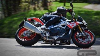 Moto - Test: Aprilia Tuono V4 1100: è puro divertimento!