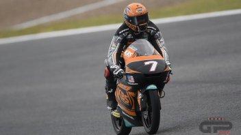 Moto3: FP1: Pista umida, Norrodin e la Honda sorprendono tutti