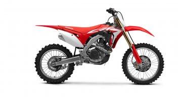 Moto - News: Honda CRF450R e CRF450RX my2018: migliorare, si può