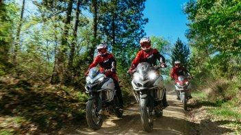 News Prodotto: DRE Enduro Academy 2017: a scuola guida di offroad con Ducati