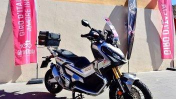 Moto - News: Honda: sponsor ufficiale del 100° Giro d'Italia