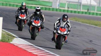 Moto - News: Tutti a scuola in pista con Aprilia #bearacer Academy