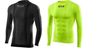 Moto - News: Sixs: TS2 e TS2 C, le maglie tecniche per il motociclista
