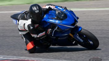 Test: Yamaha YZF-R6: media bollente