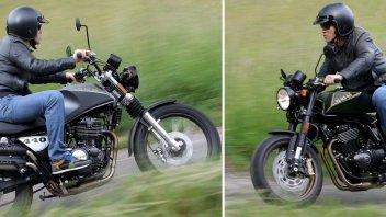 Moto - Test: SWM Silver Vase e Gran Milano: sorelle vintage