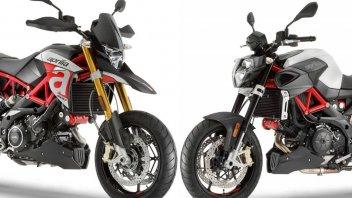 Moto - News: Aprilia, Dorsoduro e Shiver 900: due anime stesso cuore