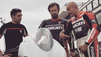 MotoGP: Carlo Cracco 'cucina' la Ducati a Misano