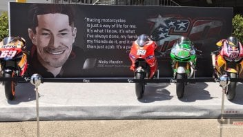 MotoGP: The GP of Italy honors Nicky Hayden at Mugello