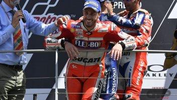 MotoGP: Dovizioso: gli alti e bassi Ducati? Dipendono dalle gomme