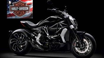 Moto - News: Un matrimonio di passione ed interesse: Harley-Davidson e Ducati