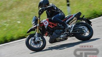 Moto - Test: Aprilia Dorsoduro 900: muscoli calibrati