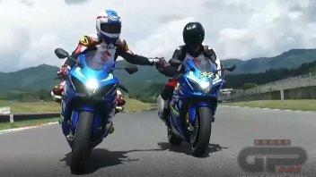 Moto - Test: Suzuki GSX-R 1000R: GPOne on the track with Kevin Schwantz
