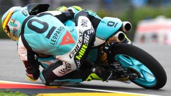 Moto3: FP3: Mir resta al comando, 4° Bulega