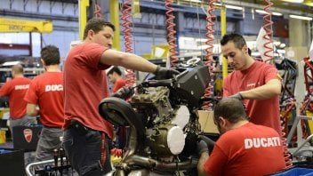 Moto - News: Ducati: a Borgo Panigale sono a pieno regime