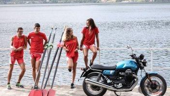 Moto - News: Instancabile come...i canottieri: MotoGuzzi rinnova l'impegno