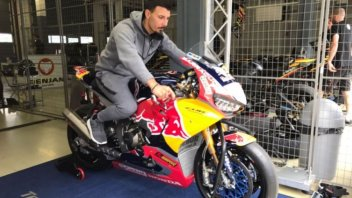 SBK: Giugliano-Honda: primo contatto al Lausitzring