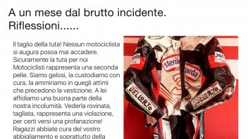 SBK: Max Biaggi: rilfessioni su una tuta tagliata