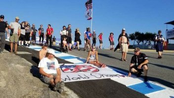 SBK: Laguna Seca remembers Nicky Hayden, #69 shines at the Corkscrew