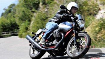 Moto - Test: Moto Guzzi V7 III: animo di libertà