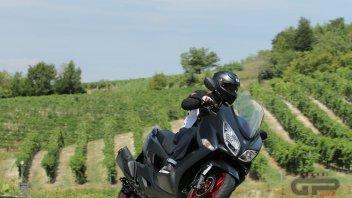Moto - Test: Burgman 400: lo scooter che vuole essere una coupé