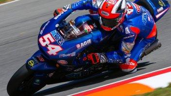 Moto2: Pasini ritrova la pole position, 3° Morbidelli