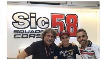 Moto3: Niccolò Antonelli joins the SIC 58 Squadra Corse in 2018