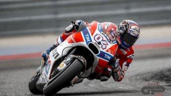 MotoGP: Coppia d'assi Ducati: 1° Dovizioso, 2° Pirro