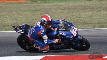 Moto2: Pasini ricorda il Sic a Misano indossando il suo casco