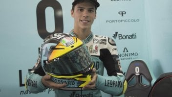 Moto3: Un casco speciale per Mir ad Aragon