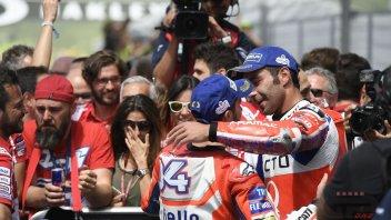 MotoGP: Petrucci: il segreto di Dovizioso? è dolce sul gas