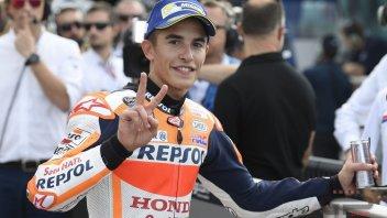 MotoGP: Marc Marquez pareggia la conta dei podi con Jim Redman