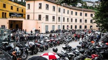 Moto - News: La pioggia non ferma i guzzisti: un successo gli Open House 2017